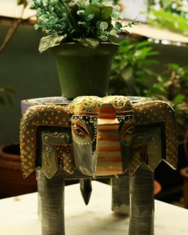 Beautiful Wooden Elephant Chair