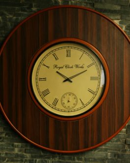 Classic Round Wooden-Wall clock
