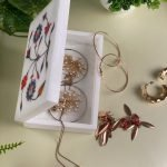 Vintage Hand Painted Jewelry Box