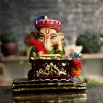 Lord Ganehsa Candle Holder