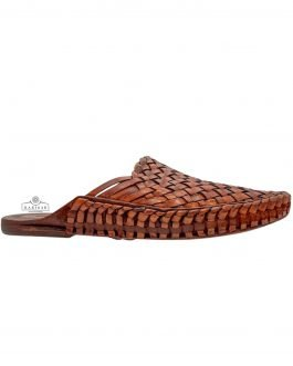 Hippie Leather Mules for men