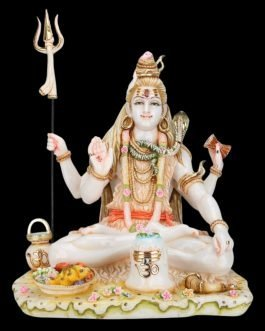 Shiva Statue Large Marble 21 inches