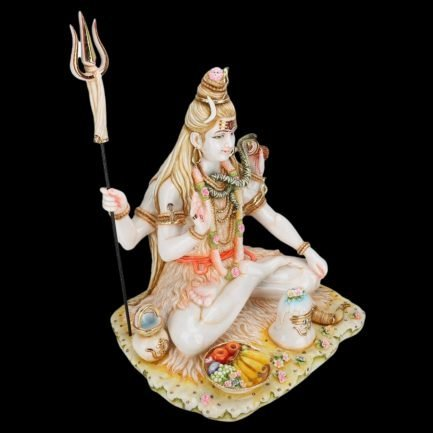 Shiva Statue Large Marble 21 inches 2