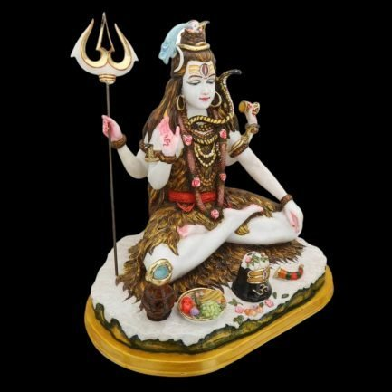 Shiva Statue Large Marble 13 inches 2