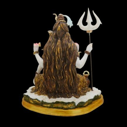 Shiva Statue Large Marble 13 inches