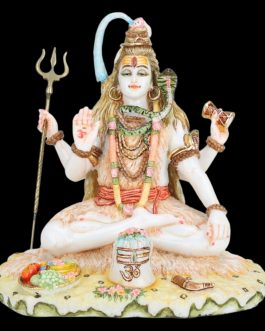 Shiva Statue Large Marble 9 inches