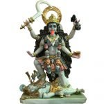 Large Kali 27 inches Marble Statue